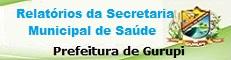 Relatórios da Saúde - Prefeitura de Gurupi/TO