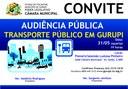 Audiência Pública discutirá transporte público em Gurupi