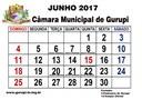 Câmara divulga calendário das sessões do mês de junho