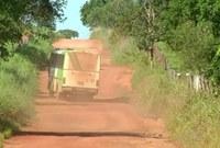 Claudio do trevo reivindica ao chefe da unidade da AGETO, recuperação da rodovia estadual TO-365