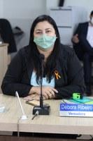Débora Ribeiro pede implantação de escola legislativa em Gurupi