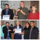 Engenheiro Itamar Zochi e professor Getúlio Dutra são homenageados na Câmara
