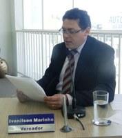 Ivanilson defende celeridade para  a conclusão do concurso da Defesa Social