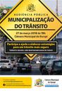 Municipalização do Trânsito será debatida em audiência pública na Câmara de Gurupi