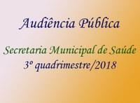 Secretaria de Saúde do Município realiza audiência pública na Câmara de Gurupi para prestação de contas