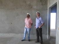 Vereador Gleydson Nato (PHS) visita as obras do HGG nesta quarta-feira