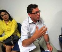Vereador Ivanilson participa da apresentação do projeto de videomonitoramento de Gurupi