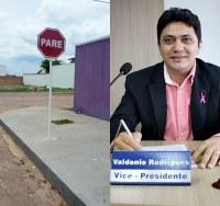 Vereador Valdônio comemora atendimento de mais um requerimento
