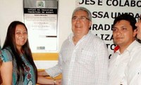 Vereador Valdônio comemora melhorias na escola Lenival Correia em Gurupi