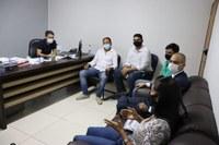 Vereadores de Gurupi debatem com Presidente do Comitê Gestor ações contra a covid