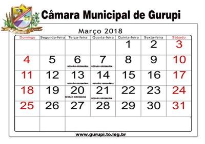 Março de 2018